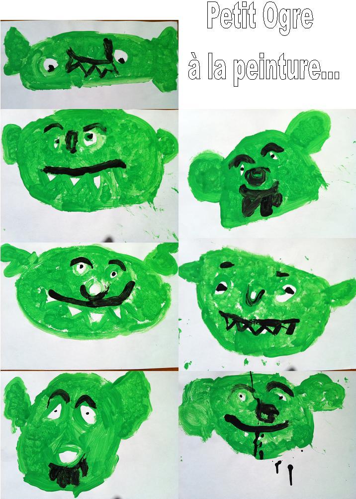 Le Petit Ogre Veut Aller à L école Le Partage C Est