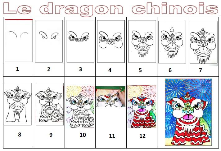 Comment dessiner une ombrelle - Comment dessiner un dragon chinois ...