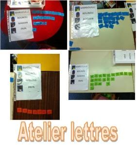 Atelier lettres