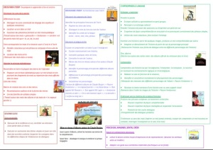 Organigramme Réseau d'album de Claude Boujon