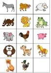 cartes cri des animaux