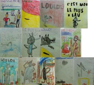 dessins albums