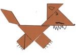 tangram loup